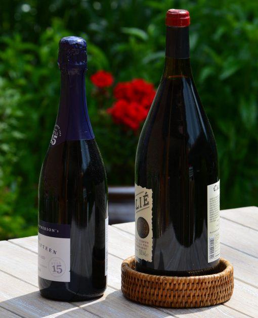 04/9006 Champagne Bottle Coaster Display