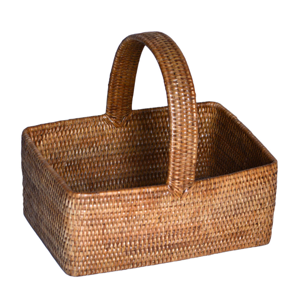 05/9057 Rattan Picnic Basket from Burma