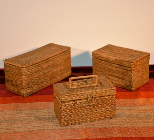 08/9007 9002 9008 Myanmar Rattan Boxes Display