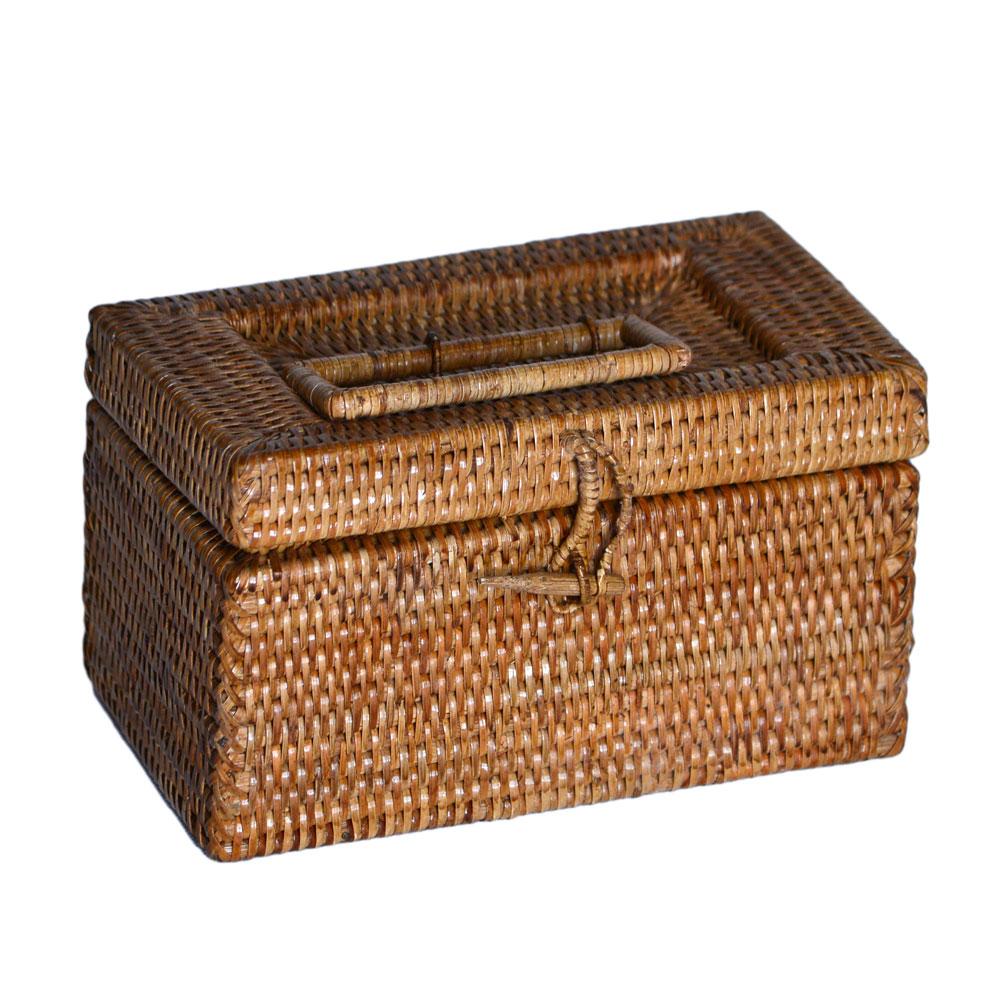 08/9008 Rattan Medicine Box