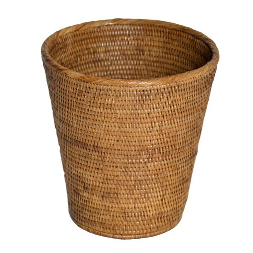 08/9035 Rattan Wastepaper Basket