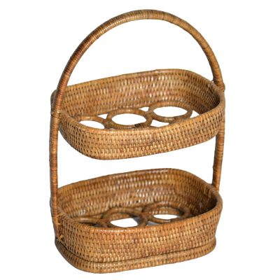 08/9R14 Rattan Egg Display