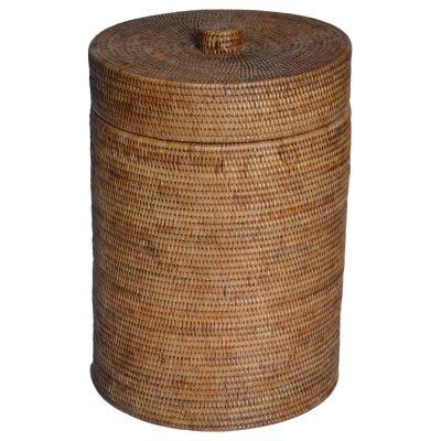 13/9036 Round Rattan Laundry Basket with Lid