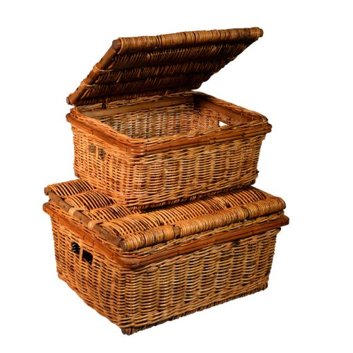 05/1185 Set of 2 Storage\Picnic Chests