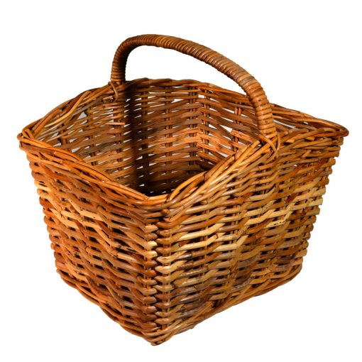 05/130 Large Oblong Split Shopping Basket