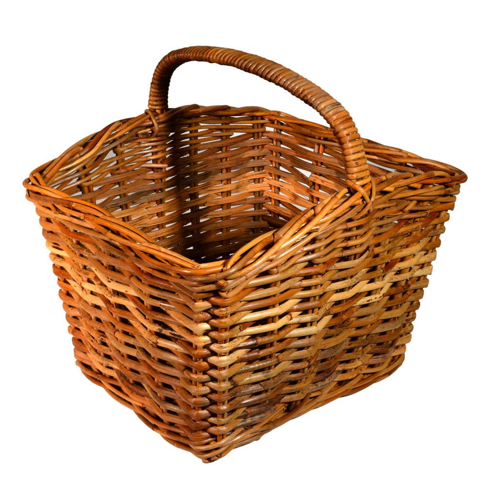 05/130 Large Oblong Split Shopping Basket