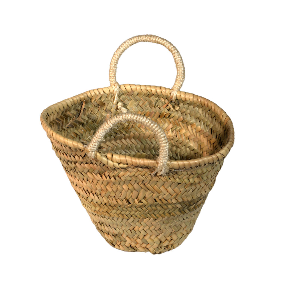 05/4400 Childs Sisal Handled Palm Shopping Basket