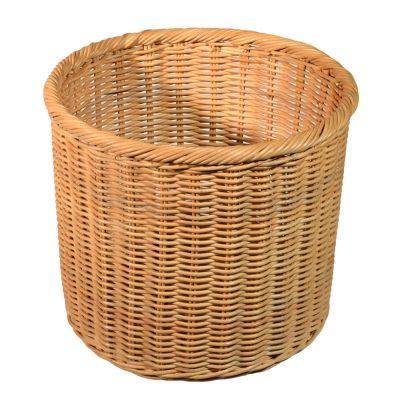 08/043 Round Rattancore Wastepaper Basket