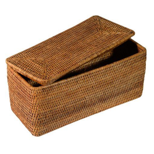 08/9007 Lidded Tote Box - Open Lid