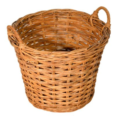 10/107 Round Log Basket