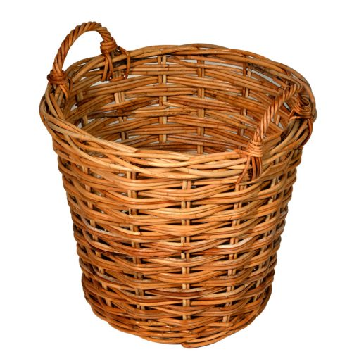 10/107S Small Round Log Basket