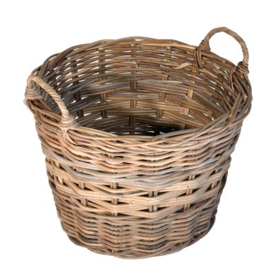 10/107SG Small Grey Log Basket