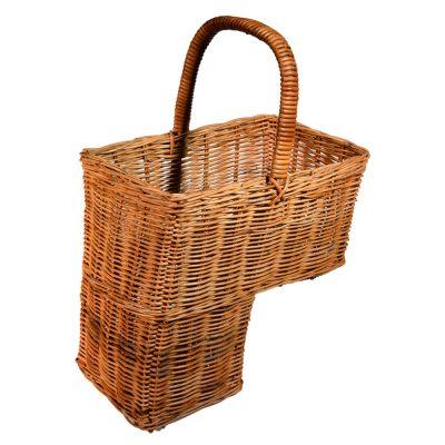 10/1091 Rattan Stair Basket