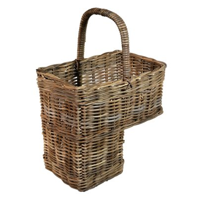 10/1091G Grey Stair Basket