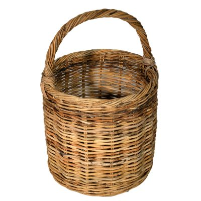 10/129 Round Overhandle Log Basket