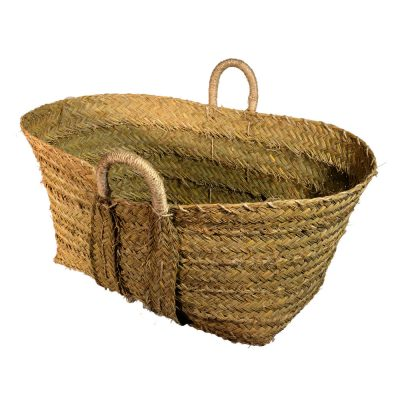 10/2055 Large Esparto Shopper/Storage Basket