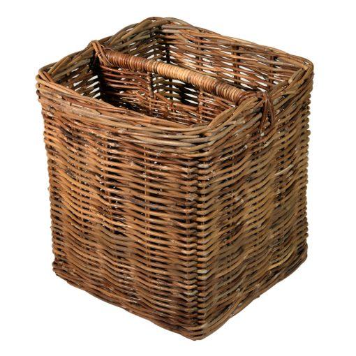 10/256 Grey Magazine Basket