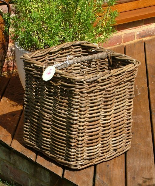 10/256 Grey Magazine Basket Display