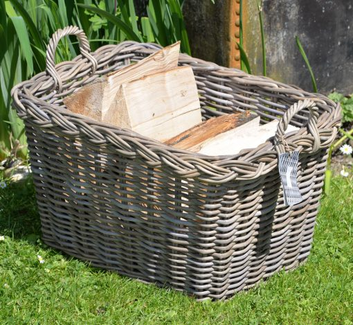 10/8005 Oblong Grey Log/Storage Basket Display