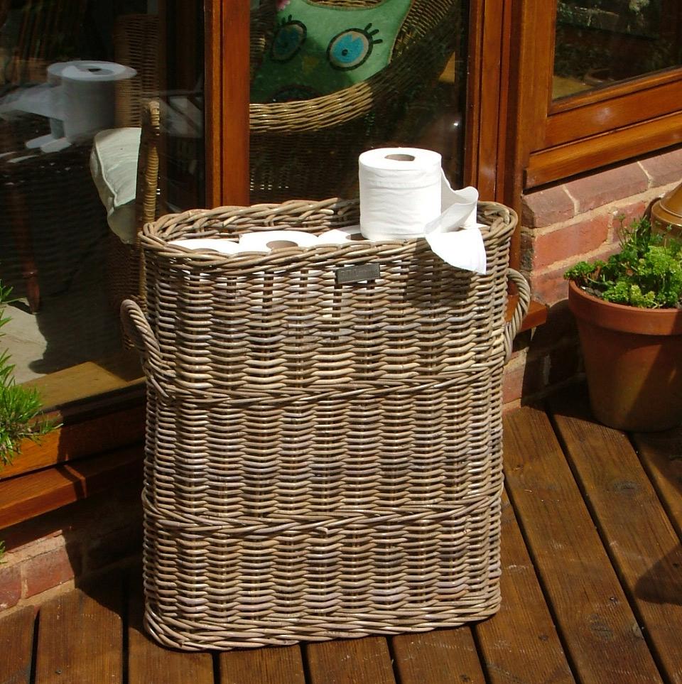 Tall Narrow Storage Basket: 10/8009 Tall Narrow Storage Umbrella Basket/ Loo Roll