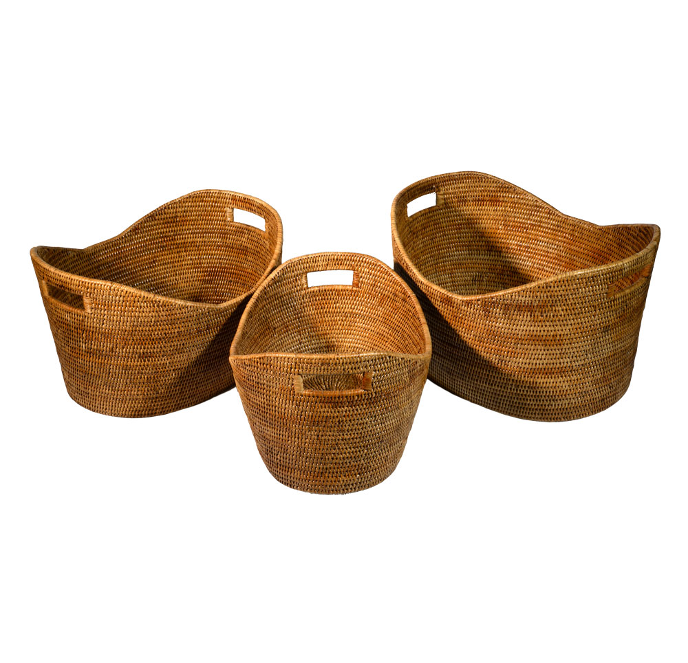11/9182 Set of 3 Storage Baskets