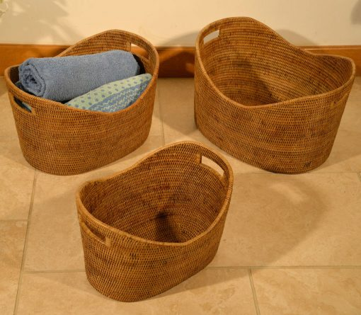 11/9182 Set of 3 Storage Baskets Display