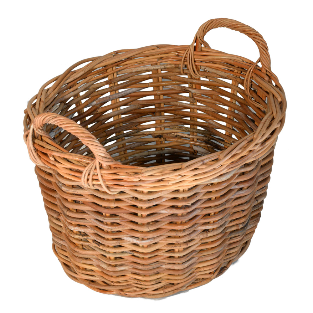 13/127 Small Oval Clothes Basket/Log Carrier