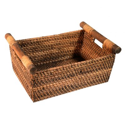 26/604 Oblong Handled Storage Basket