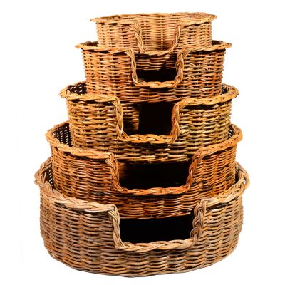 09/104-103-102 Set of 5 Dog Baskets