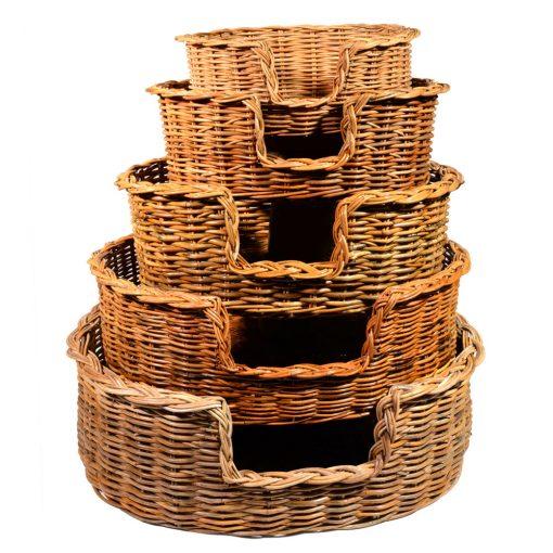 09/104-103-102 Set of 5 Dog Baskets