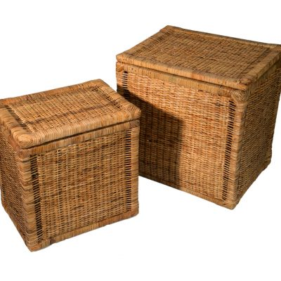 13/120 Set of 2 Laundry Boxes