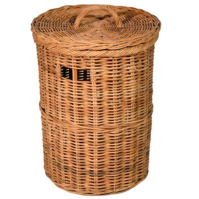 13/4200 Small Round Lacak Linen Basket