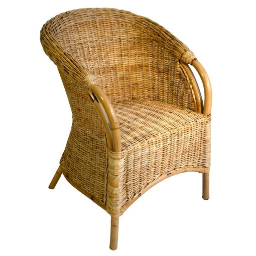 16/154 Natural Rattan Patio Chair