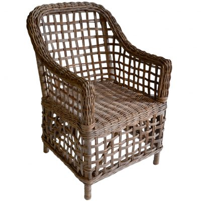 16/1699 Square Croco Rattan Chair