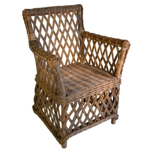 16/426 Small Colonial Rattan Chair