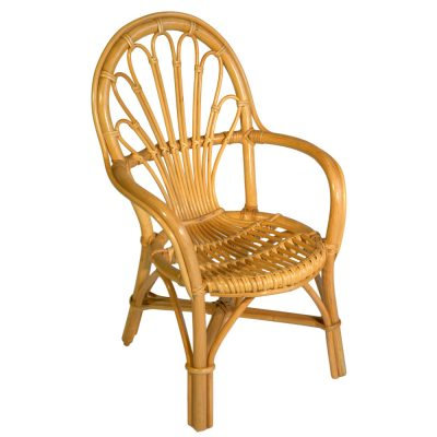 16/44313 Rattan Pole Childs Chair