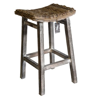 18-8026 Kitchen Stool with Mango Wood
