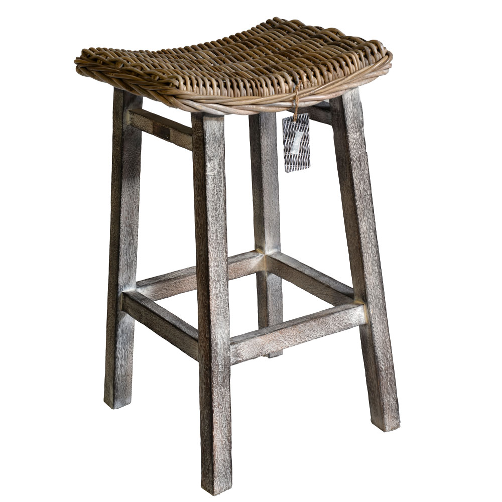 Kitchen Stool With Mango Wood