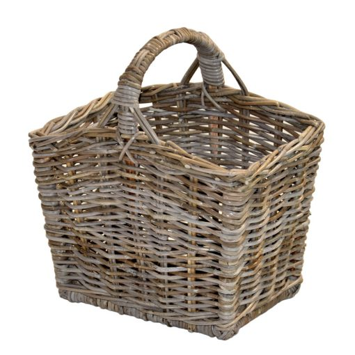 05/357G Grey Oblong Picnic Basket