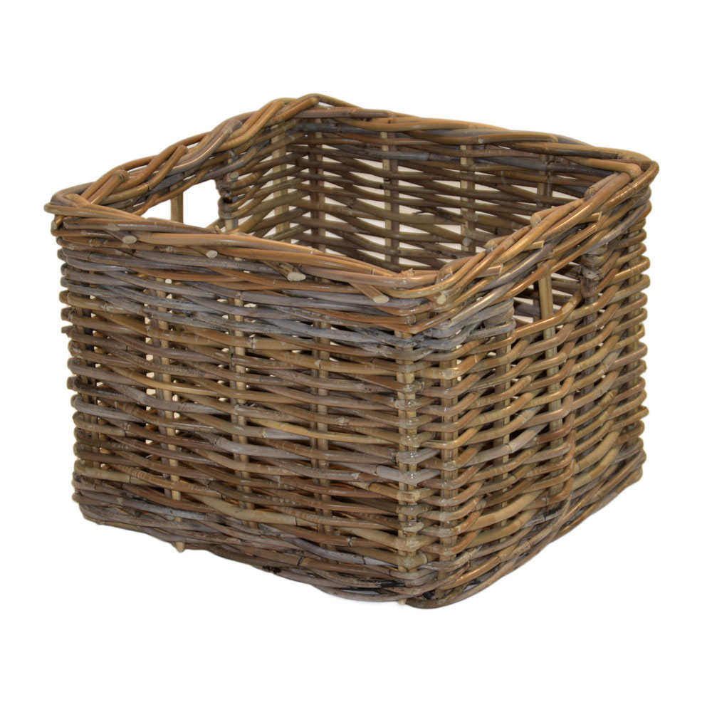 10/056G Square Grey Storage Basket