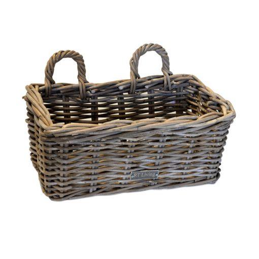 02/6299 Small Grey Rectangular Planter/Window Box