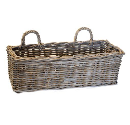 02/6598 Large Grey Rectangular Planter/Window Box