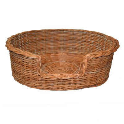 09/104 Extra Large Rattan Dog Basket
