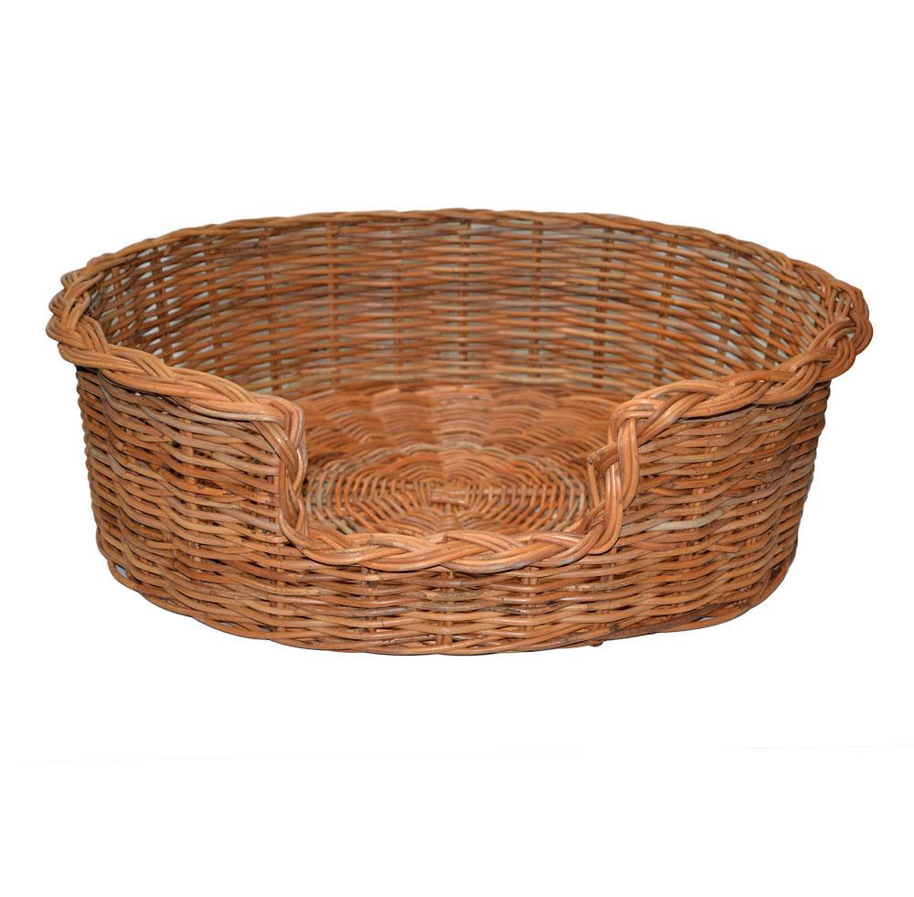 09/104 Extra Large Rattan Dog Basket
