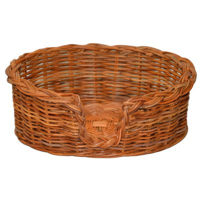 09/104 Extra Small Rattan Dog Basket