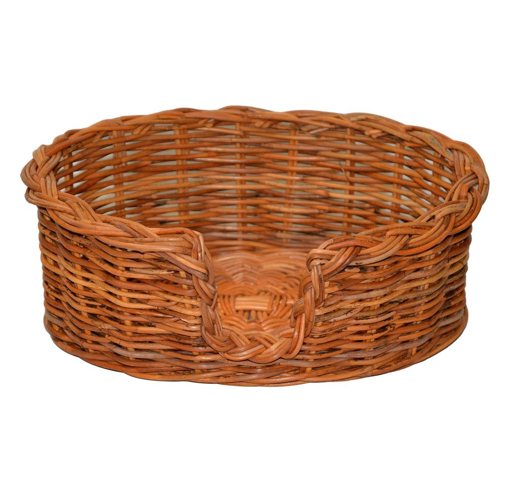 09/104 Extra Small Rattan Dog Basket