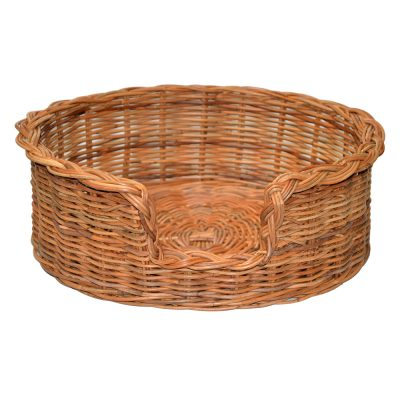 09/104 Medium Rattan Dog Basket