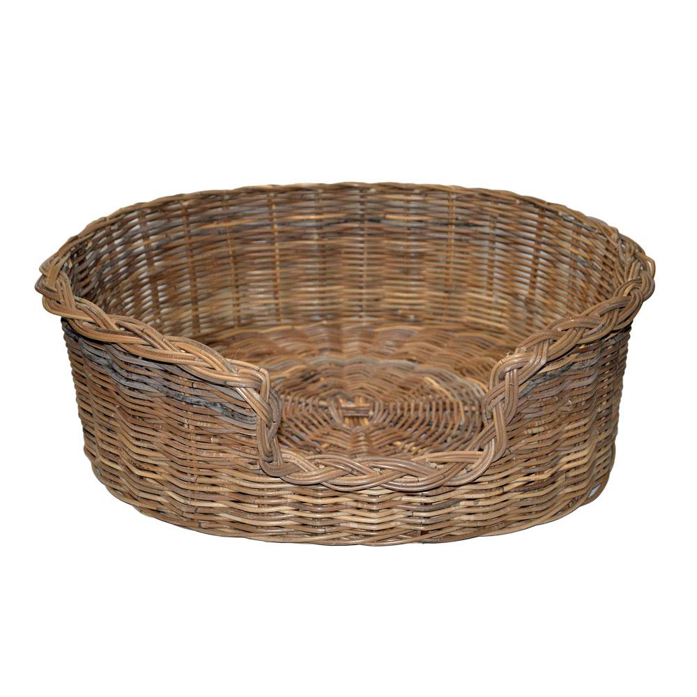 09/104GXL Extra Large Grey Oval Dog Basket