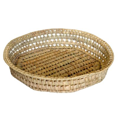 03/CR43 Round Palm Tray 43cm