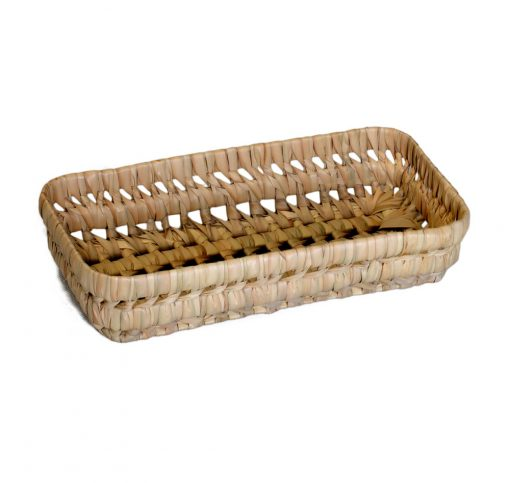 03/KR10 Oblong Palm Storage Basket 25cm
